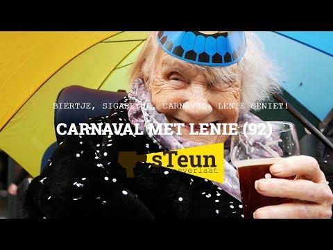 Still uit de video 'Carnaval met Lenie (92)! - Carnavalspecial - sTeun en toeverlaat'