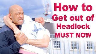 How to get out of headlock MUST NOW – Wing Chun