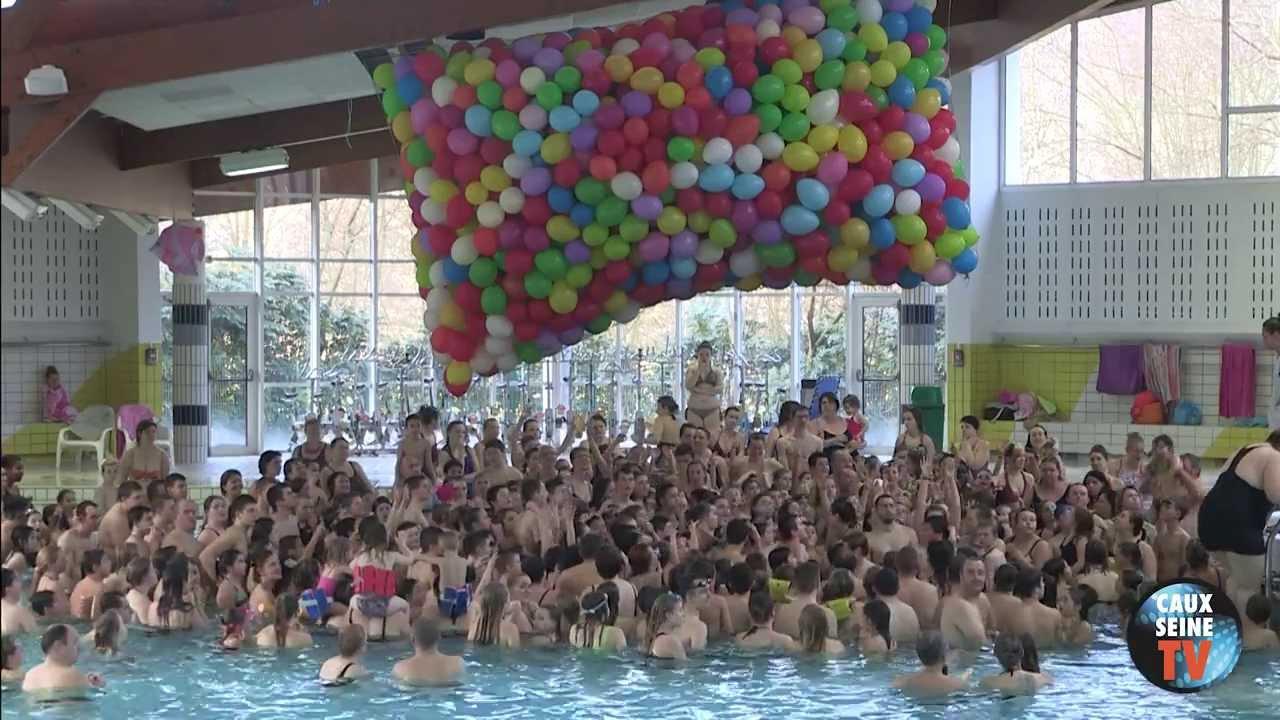 L cher de ballons 2014 piscine lillebonne la presqu 39 le for Piscine de lillebonne