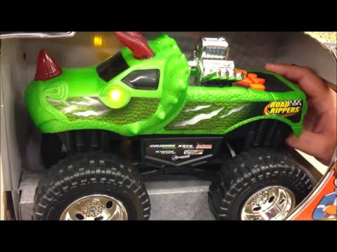 Usa Store View Of Road Rippers Monster Truck Dinosaur Motorised Toy