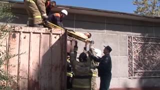видео Маленький ребенок выпал из окна восьмого этажа в Тюмени