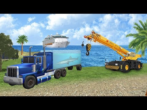 Sea Animal Cargo Truck (by Nelsongamesclub) Android Gameplay [HD]