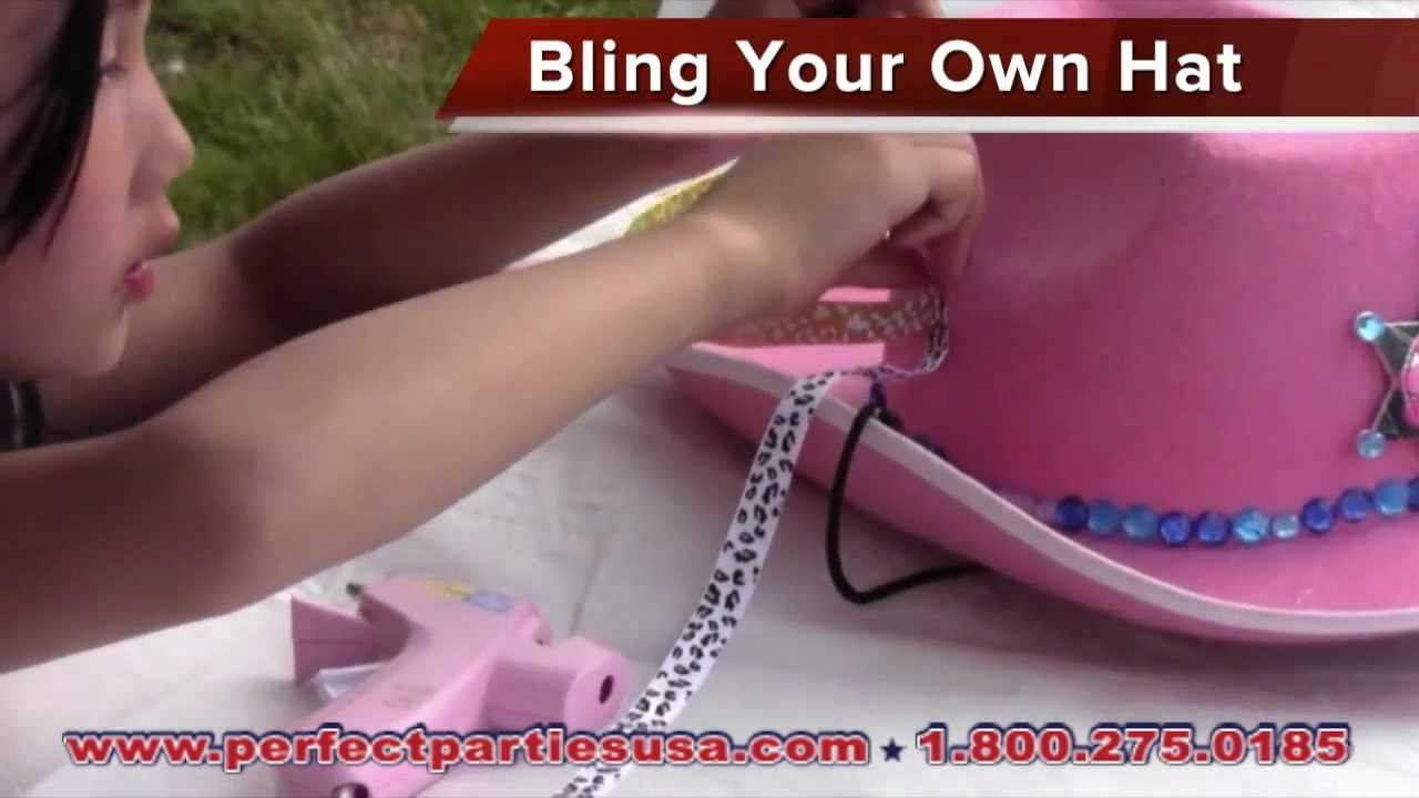 Perfect Parties USA   Bling Your Own Cowboy - YouTube 38556ced8f6