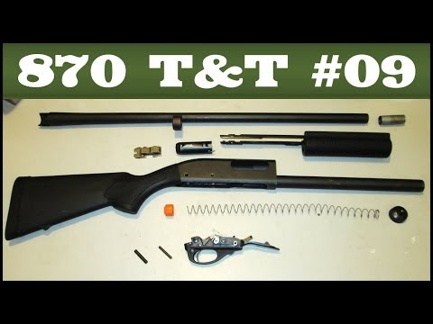 Basic Take-Down & Reassembly (all models) - Remington 870 Tips & Tricks #9