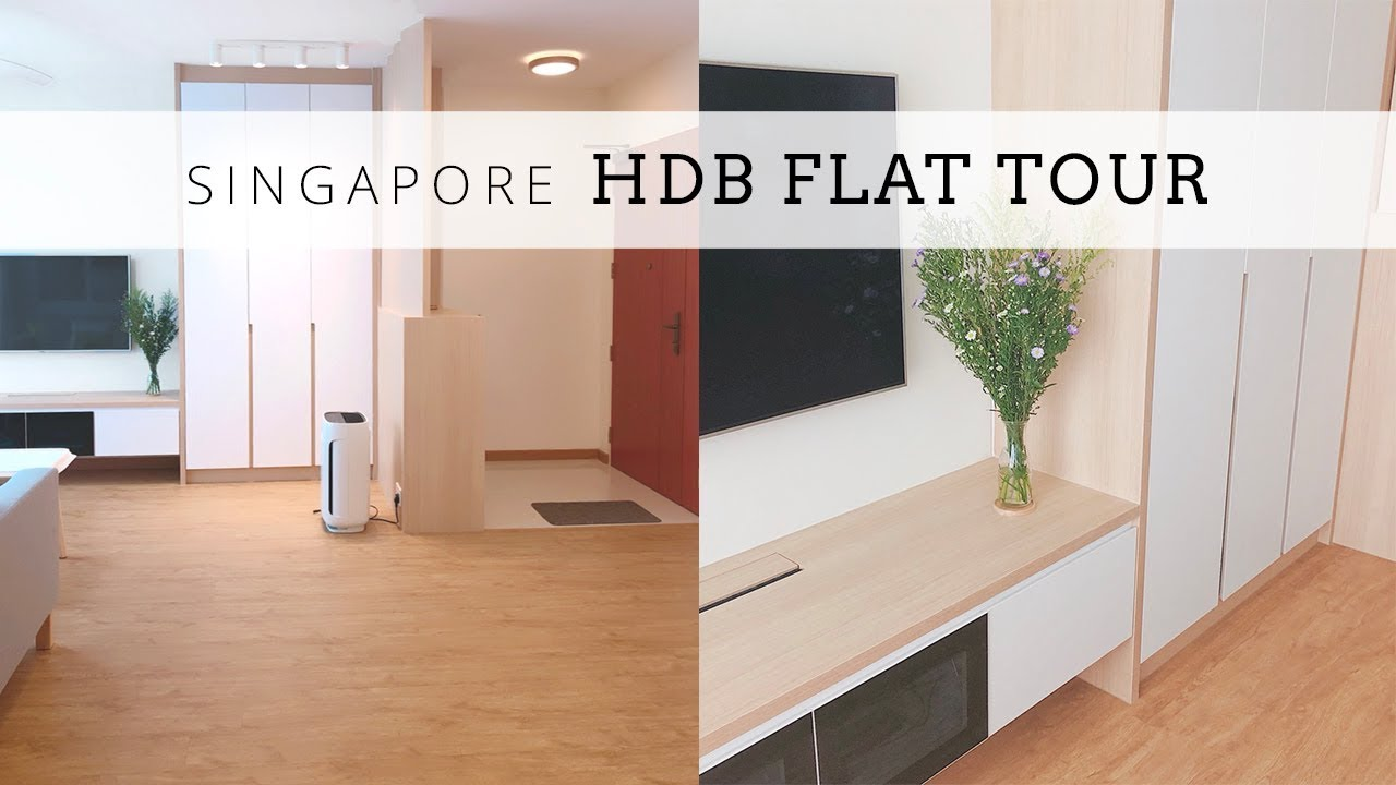 Welcome To My Home Singapore Hdb 4 Room Flat Tour Youtube