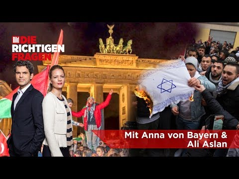"""Israel-Hetze mitten in Berlin - Geht's noch? - BILD stellt """"Die richtigen Fragen""""!"""