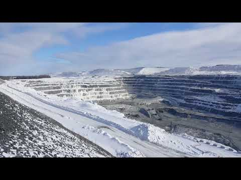 Largest Open Pit Gold Mine In Canada.