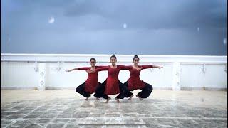 DANCING IN THE RAIN | Bharathanatyam - Choreographed by Simran Sivakumar .