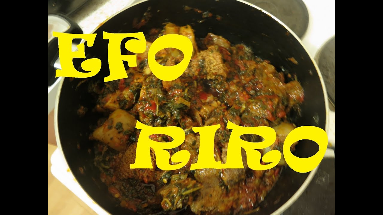 How to cook nigerian efo riro nigerian food recipes youtube forumfinder Images