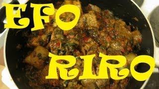 HOW TO COOK NIGERIAN EFO RIRO   Nigerian Food Recipes