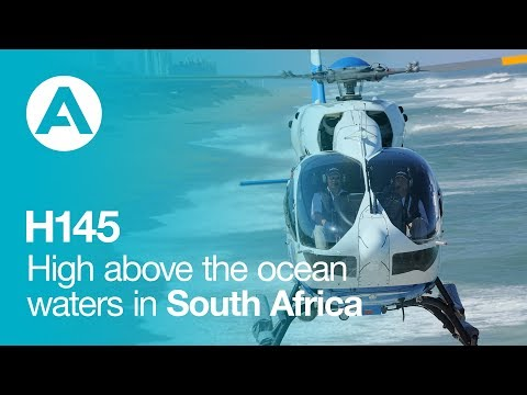 Acher Aviation's H145 : High above the ocean waters in South Africa