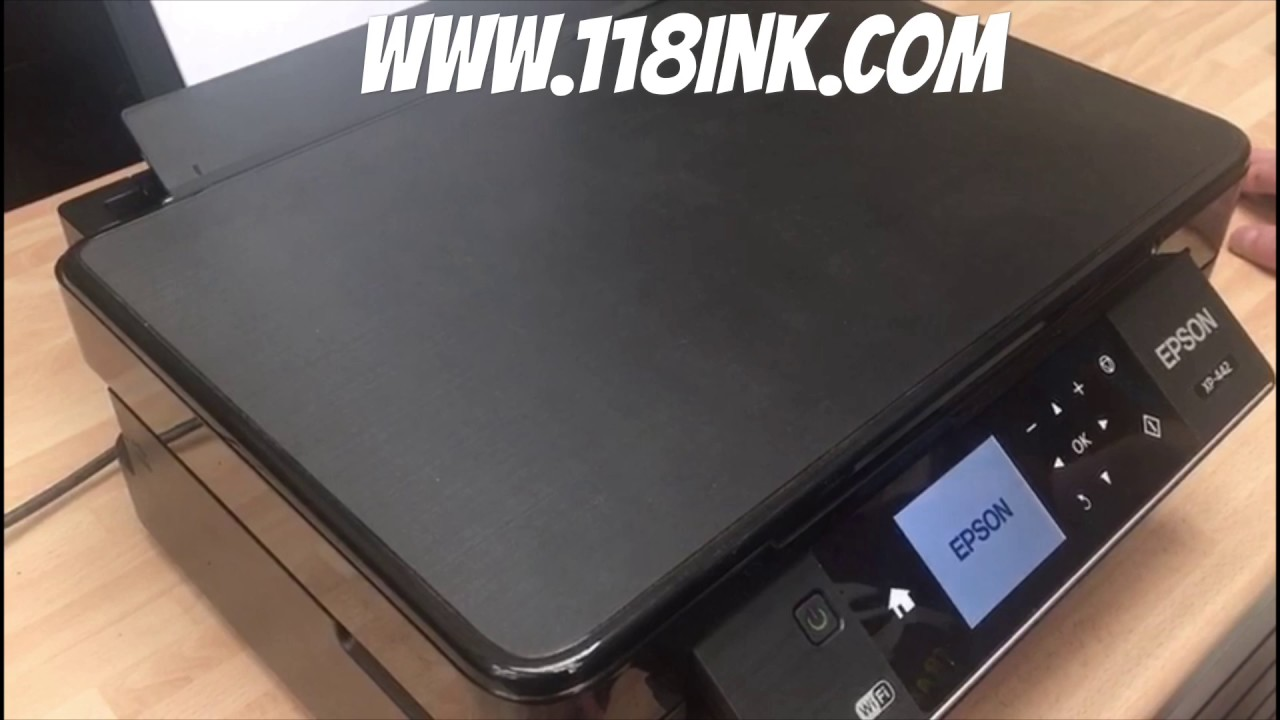 How to move the ink cartridge cradle / cartridge / paper jam on an Epson  printer