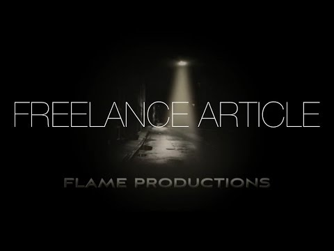 Freelance Article Official Trailer