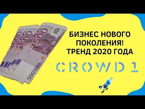 CROWD1 - КОРОТКО О КОМПАНИИ | ВСЯ СУТЬ 🔥 ТРЕНД 2020 года