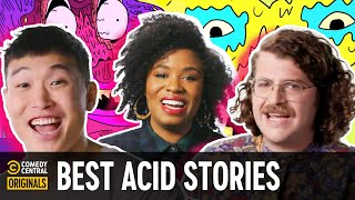 """Comedians' True Acid Stories from """"Tales from the Trip"""""""