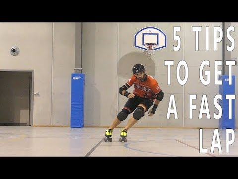 5 Tips For A Fast Lap In Roller Derby (pascal Briand Vlog 88)