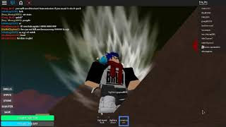 Roblox/DBZ Rage/all secret place to train w/lighningspeed026