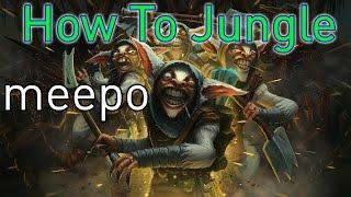 DoTa 2 How To Jungle Meepo
