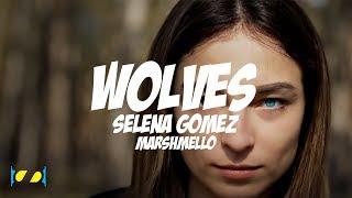 Wolves - Selena Gomez, Marshmello  [ Lyric Video ]