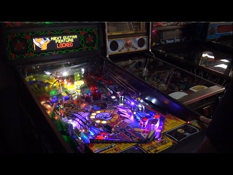 Pinball Mods # 34 : ColorDMD Install : Data East Guns N Roses Pinball
