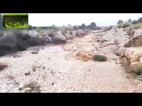 A dry river flooded in just 2 seconds!see it yourself