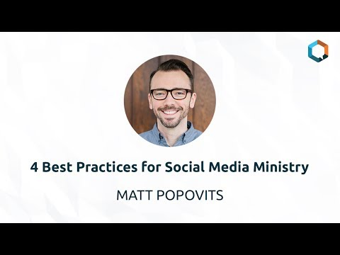 4 Best Practices for Social Media Ministry