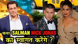 Salman Khan To Welcome Nick Jonas Priyanka Chopra On Bharat Sets?