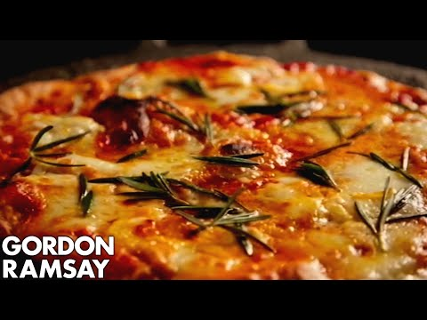 How to Make Margherita Pizza at Home - Gordon Ramsay