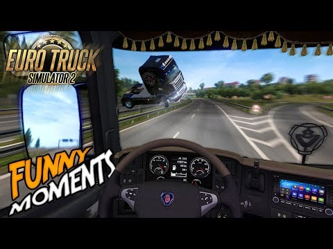 Euro Truck Simulator 2 Multiplayer Funny Moments & Crash Compilation #94