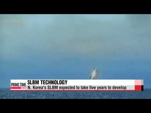 North Korea SLBM to take 5 years to complete:KDIA   북한 SLBM 기술 5년 후 완성