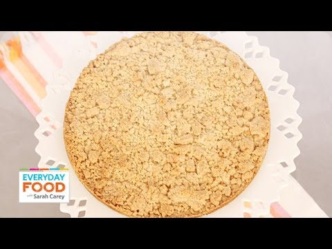 One-Pot Giant Almond Crumble Cookie - Everyday Food with Sarah Carey ...