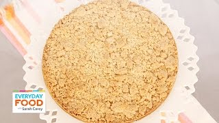 One-pot Giant Almond Crumble Cookie - Everyday Food With Sarah Carey