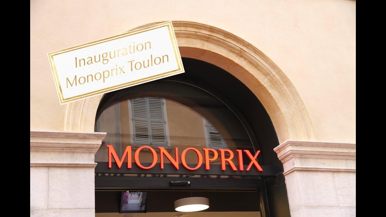 Inauguration de Monoprix Toulon - YouTube