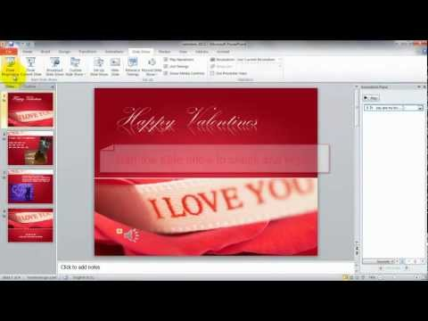 Audio in Microsoft PowerPoint 2010 - How to Play Music across Multiple Slides in PowerPoint 2010