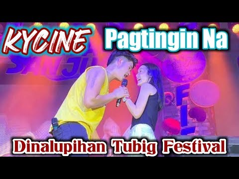 Kyle Echarri and Francine Diaz/ Pagtingin Na Kilig Moments Dinalupihan Tubig Festival
