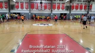 Brooke Tatarian Class of 2021 – #WeLuvGirlsBBall2 Participant