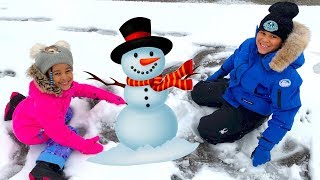 FamousTubeKIDS First Day of Snow!