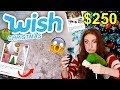 I SPENT $250 ON WISH CHRISTMAS DECOR!! TRYING HOLIDAY DECORATIONS FROM WISH 2018