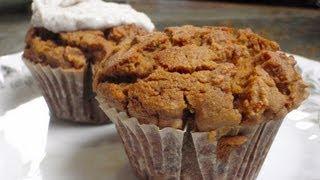 Organic Vegan Carrot Muffin Recipe (Gluten-free)