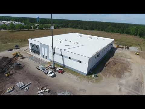 5/3 Drone Video of New King Machine Plant in Sumter, SC