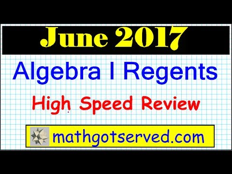 june 2017 algebra 1 answers nys regents examination 1 to. Black Bedroom Furniture Sets. Home Design Ideas