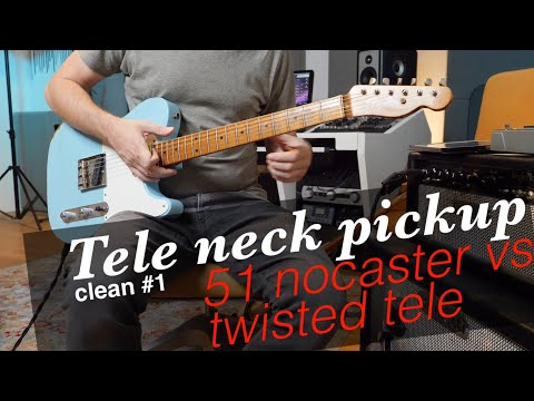 clean \u002751 nocaster vs twisted tele neck pickup (fender custom shopWay Switch And Twisted Tele Neck P Up Page 2 Telecaster Guitar #16