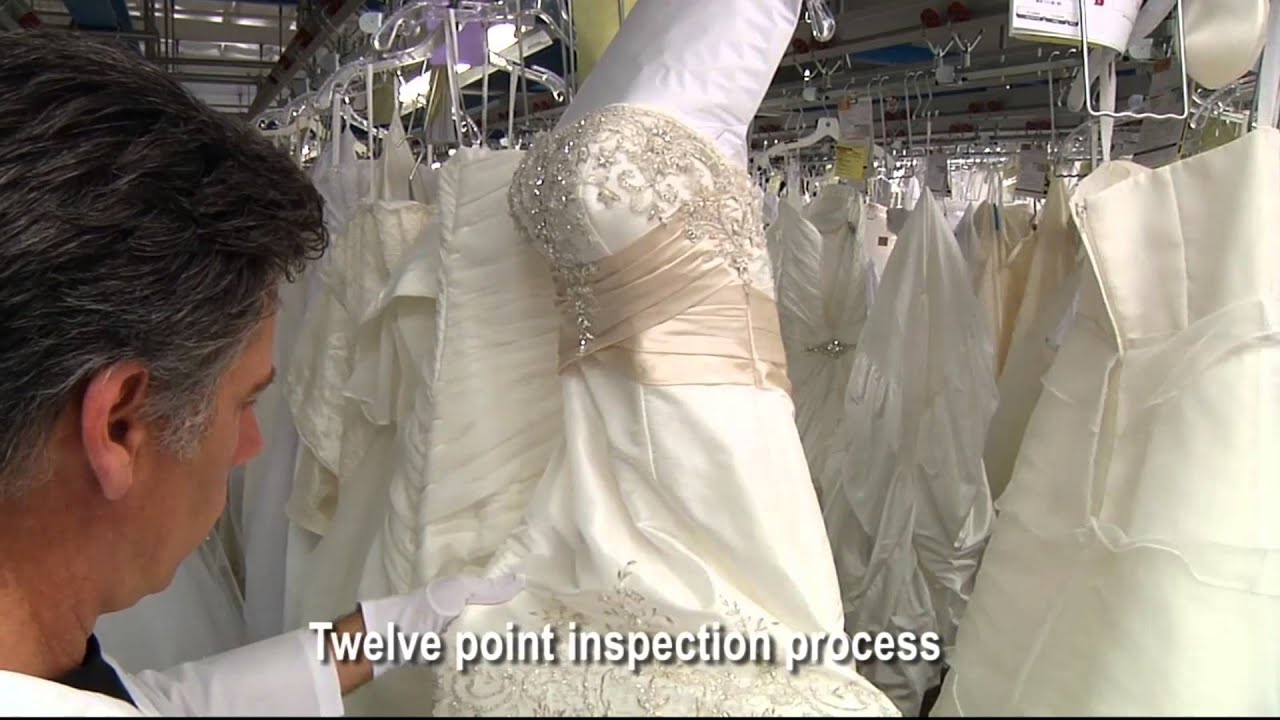 Wedding Dress Preservation - How Your Gown is Preserved - YouTube