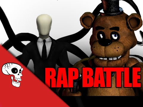 Slenderman Vs Freddy Fazbear Rap Battle by JT Music