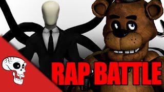 Slenderman Vs Freddy Fazbear Rap Battle by JT Music