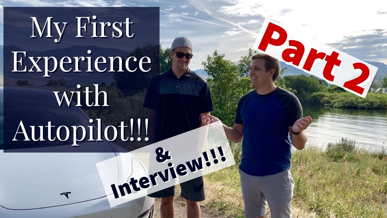 My First EVER Autopilot Experience in a Tesla | Interview with a Tesla  owner | Part 2