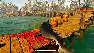 MANEATER New Gameplay Demo (Open World Shark Game 2019)