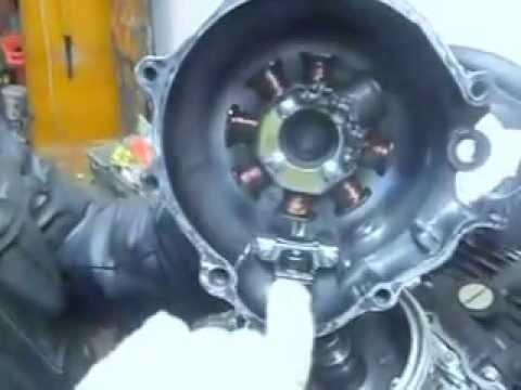 Разбор китайского двигателя 163FML(часть 4)