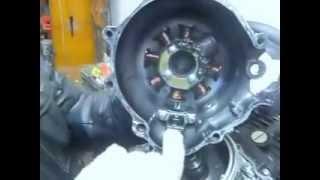 Как отрегулировать зажигание на двигателе 163FML
