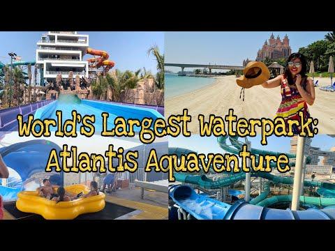 ATLANTIS AQUAVENTURE WATERPARK DUBAI 2021